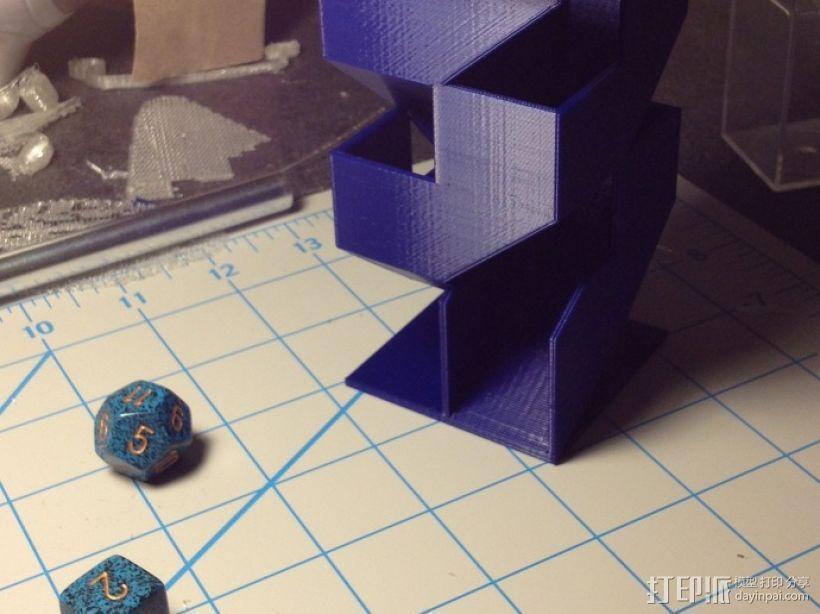 骰塔  3D模型  图1