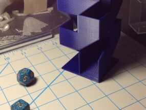 骰塔  3D模型