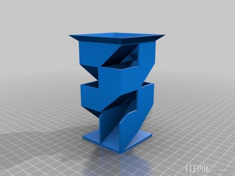 骰塔  3D模型  图4
