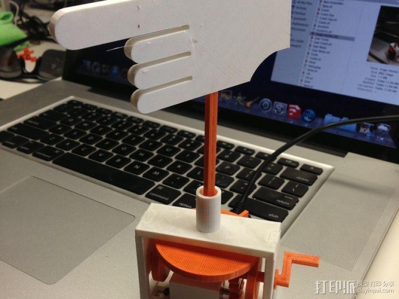 手指指针 3D模型  图1