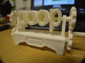 boob poop上下对称装置 3D模型