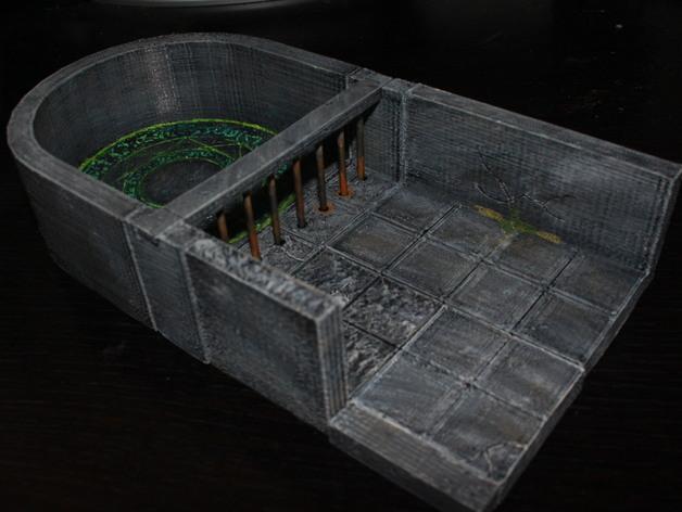 OpenForge单人牢房 3D模型  图4