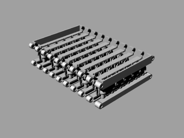 硅胶飞镖镖尖制作模具 3D模型  图1