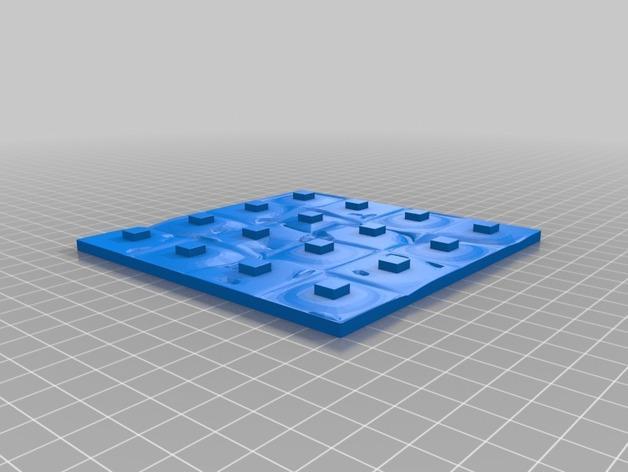火星基地象棋 3D模型  图8