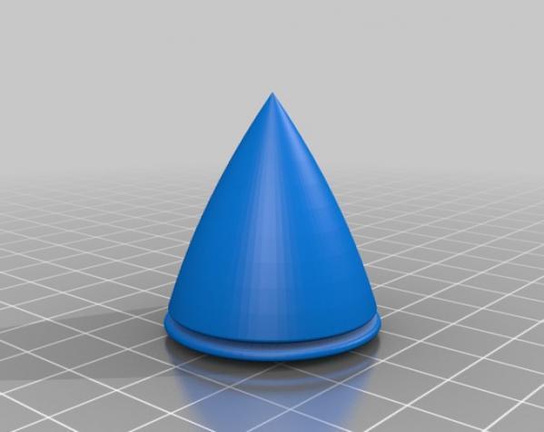 制动火箭船 3D模型  图3