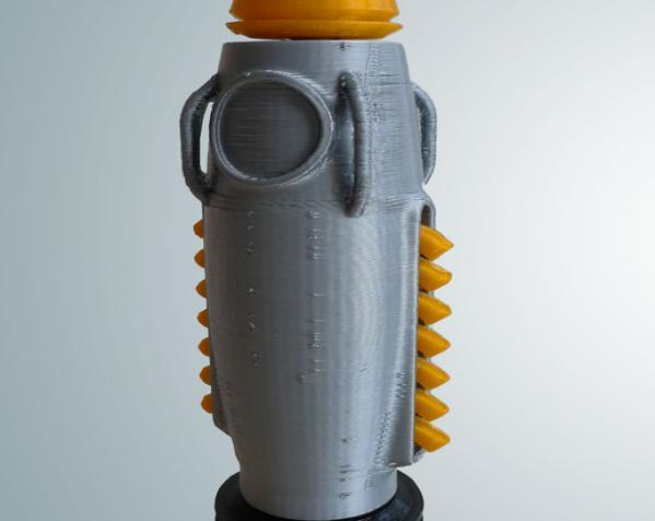 制动火箭船 3D模型  图1