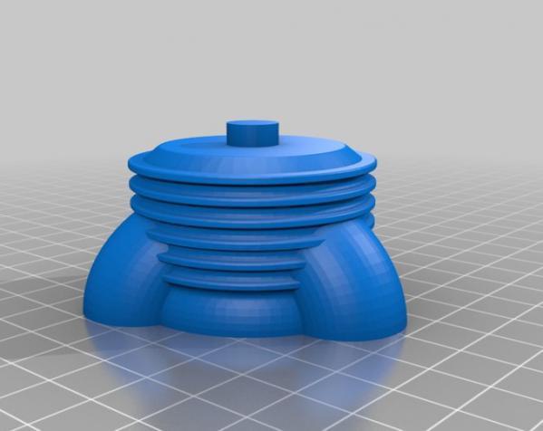 制动火箭船 3D模型  图5