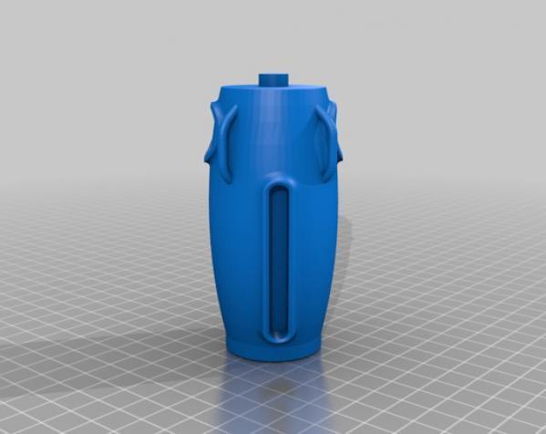 制动火箭船 3D模型  图7
