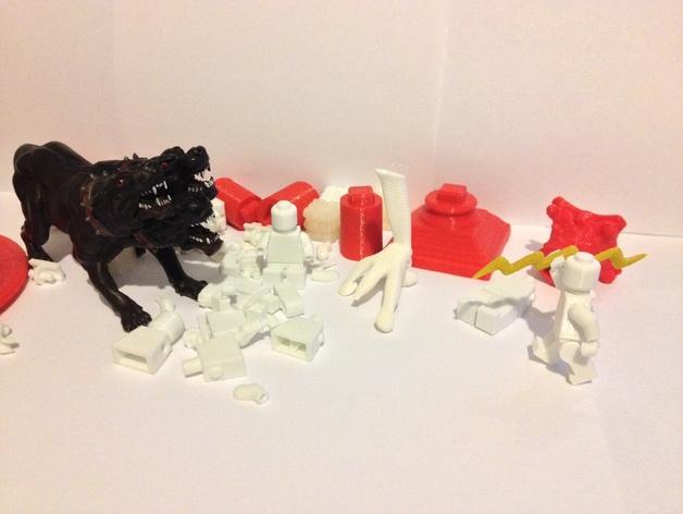 Replicator2 人形玩偶 3D模型  图3