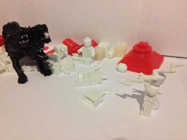 Replicator2 人形玩偶 3D模型  图4