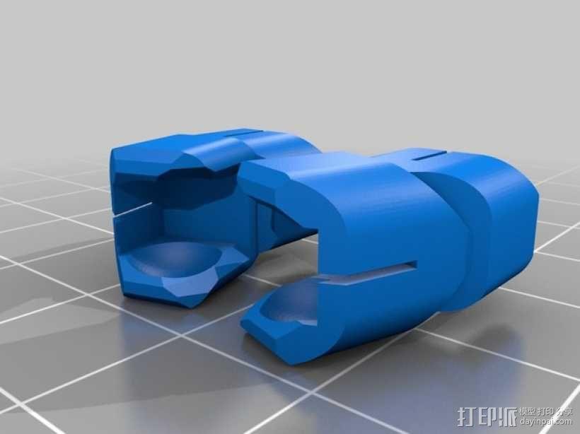开源人形玩偶Ghost Ver 4.2 3D模型  图3