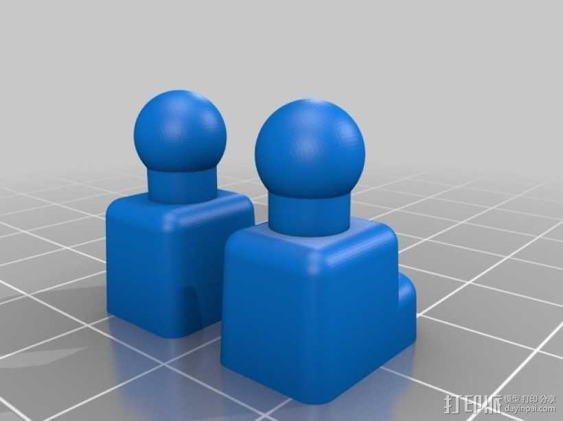 开源人形玩偶Ghost Ver 4.2 3D模型  图5
