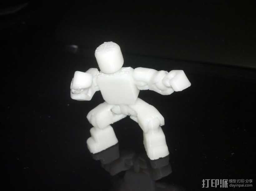 开源人形玩偶Ghost Ver 4.2 3D模型  图7