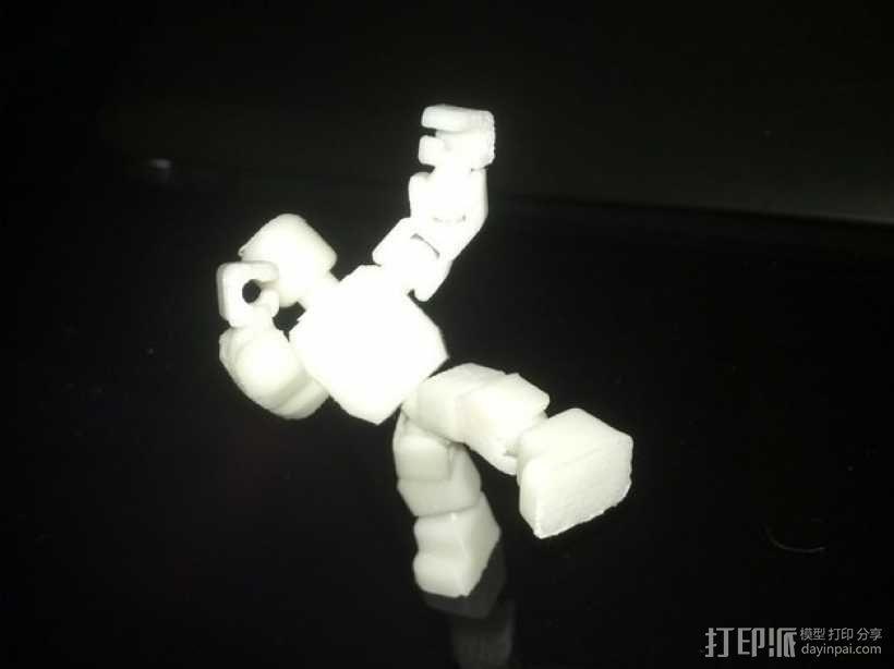 开源人形玩偶Ghost Ver 4.2 3D模型  图9