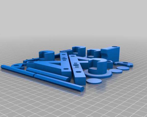 参数化的Seej钱币发射器 3D模型  图2