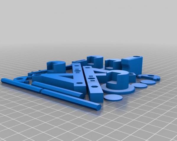 参数化的Seej钱币发射器 3D模型  图3