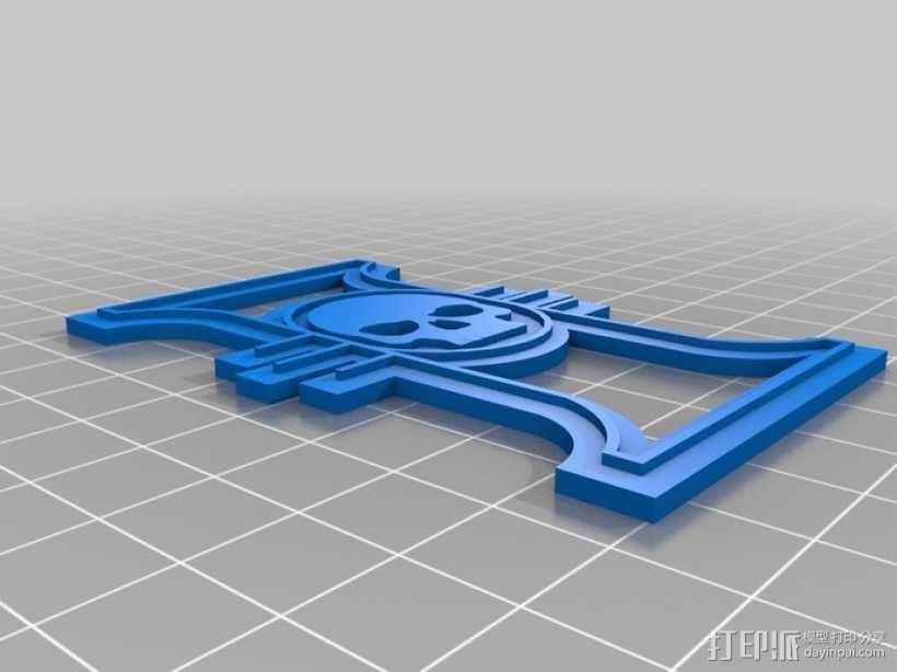 战锤宗教裁判所标志 3D模型  图1