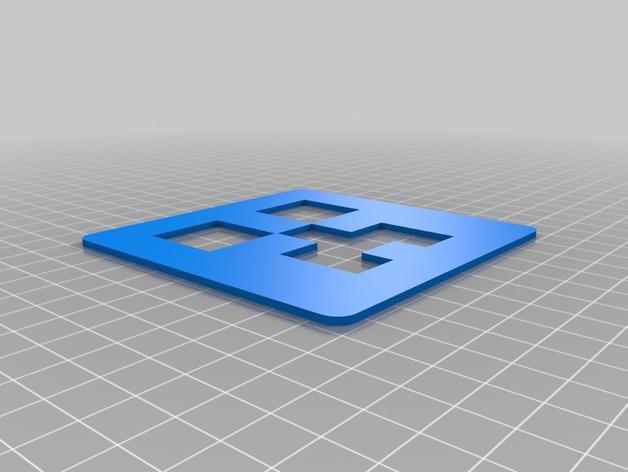 爬行者杯垫 3D模型  图2