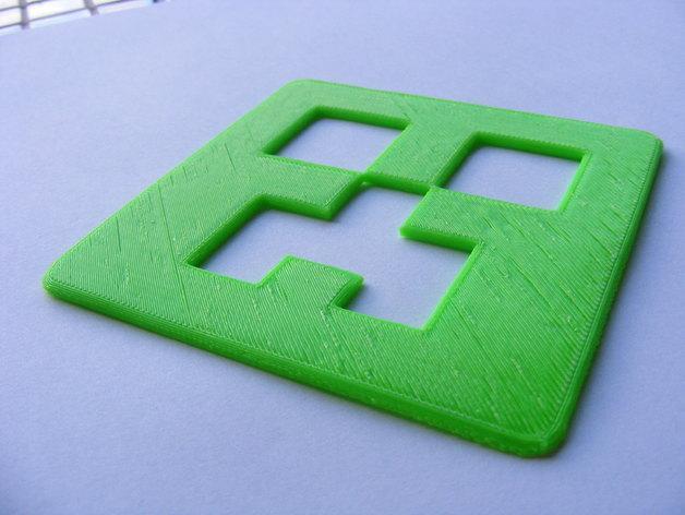 爬行者杯垫 3D模型  图3