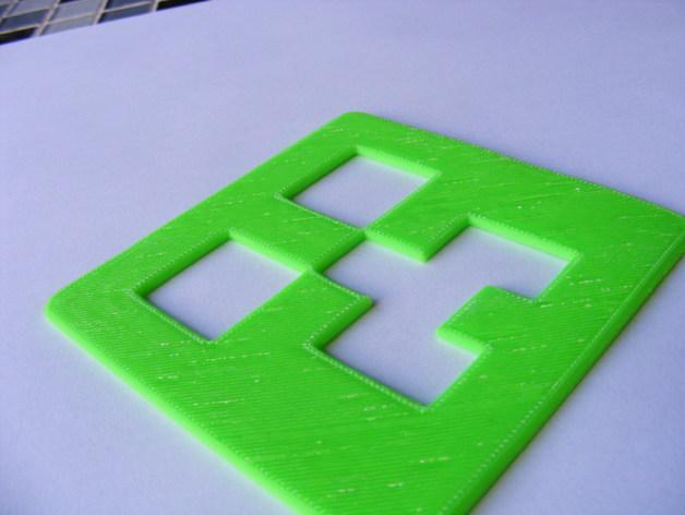 爬行者杯垫 3D模型  图4