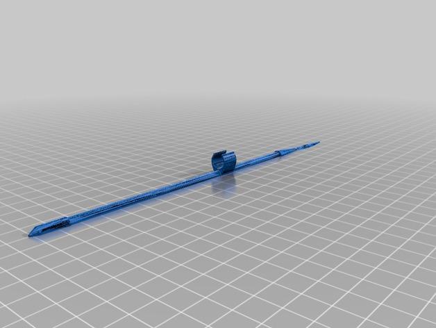 雅典娜玩偶套件 3D模型  图2