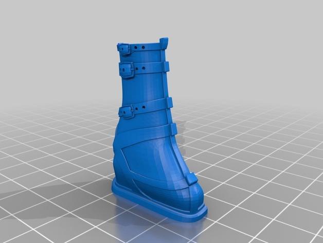 雅典娜玩偶套件 3D模型  图5