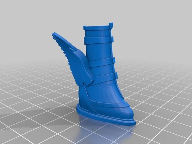 雅典娜玩偶套件 3D模型  图7