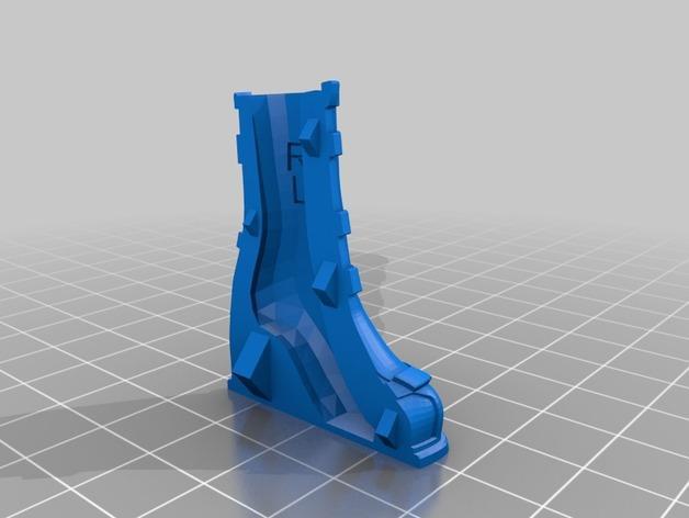 雅典娜玩偶套件 3D模型  图8