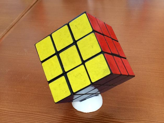 迷你Rubik魔方卡座 3D模型  图1