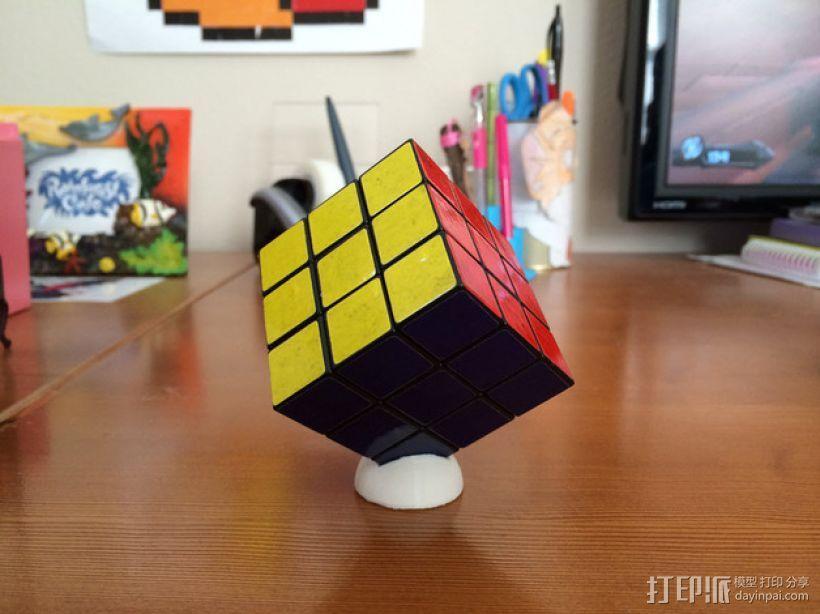 迷你Rubik魔方卡座 3D模型  图2