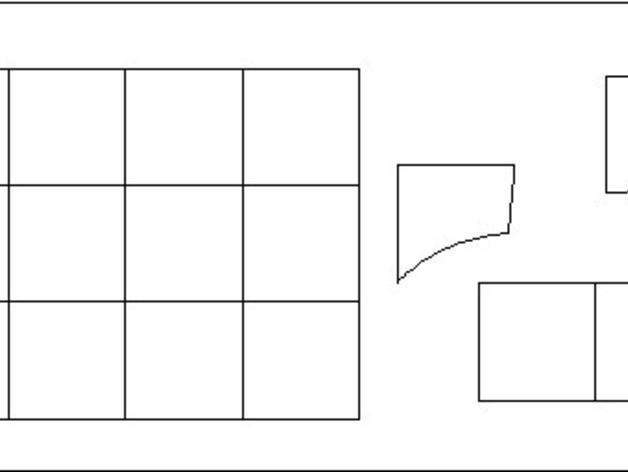 嵌有罗盘刻度盘的象棋棋盘 3D模型  图5