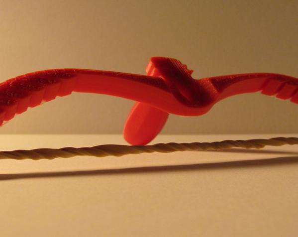 橡皮筋反曲弓 3D模型  图3