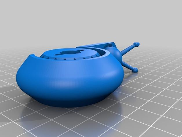 蜗牛形发动机 3D模型  图4