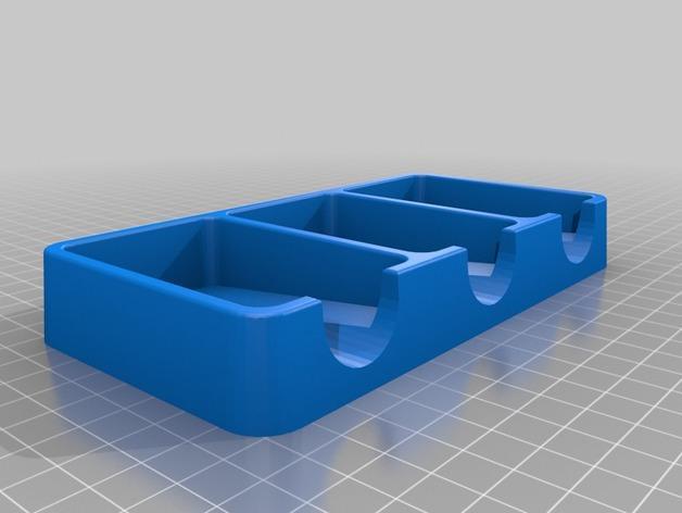 卡坦岛游戏卡盒 3D模型  图1