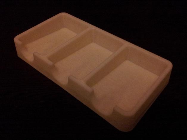 卡坦岛游戏卡盒 3D模型  图2