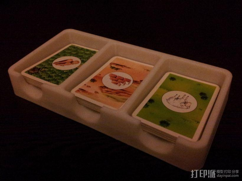 卡坦岛游戏卡盒 3D模型  图3