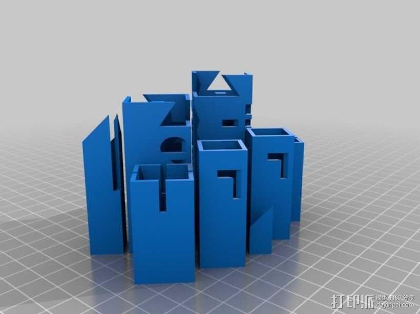 带有艺术气息的象棋 3D模型  图3