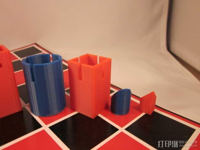 带有艺术气息的象棋 3D模型  图9