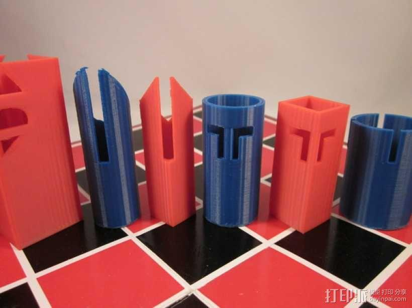 带有艺术气息的象棋 3D模型  图8