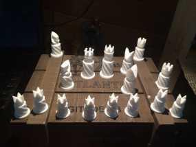 圆柱形象棋套件 3D模型