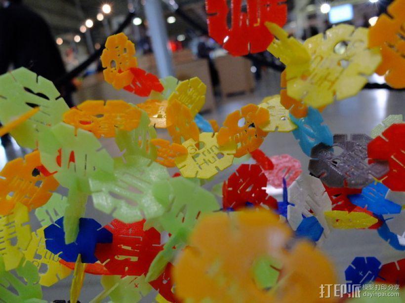 网络状的octons游戏 3D模型  图4