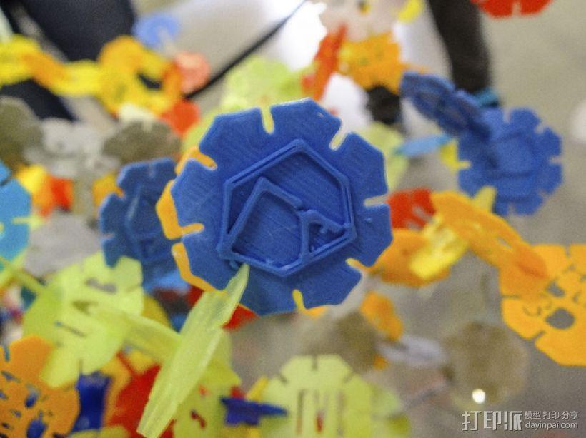 网络状的octons游戏 3D模型  图5