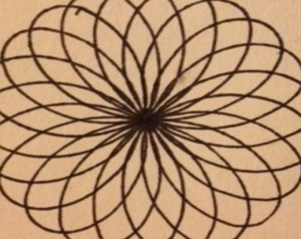带有内旋轮线的画图工具 3D模型  图3
