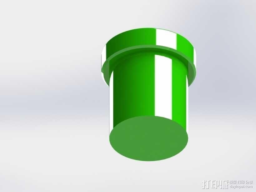 超级玛丽水管 3D模型  图3