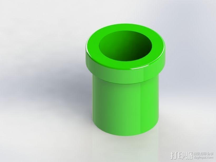 超级玛丽水管 3D模型  图2