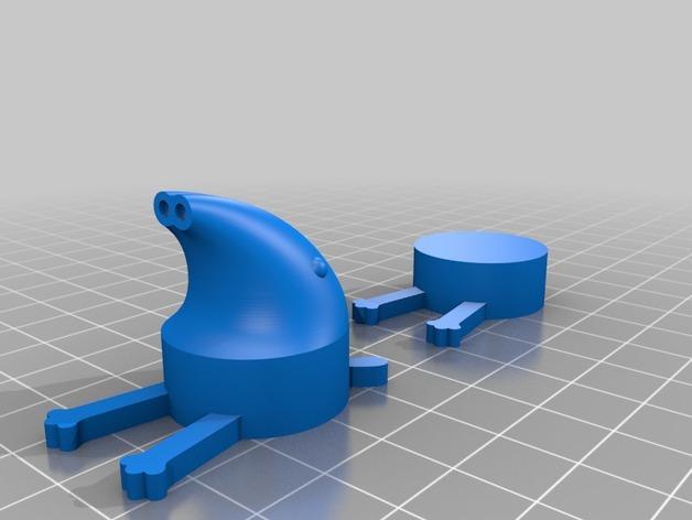 软木塞貘 3D模型  图2