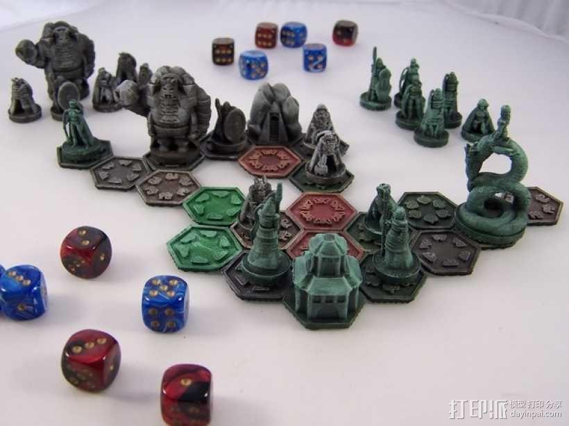 Pocket-Tactics:精灵VS.矮人 3D模型  图1