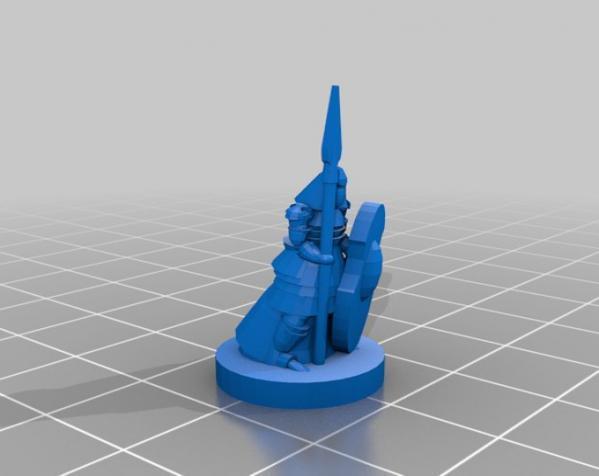 Pocket-Tactics:精灵VS.矮人 3D模型  图5