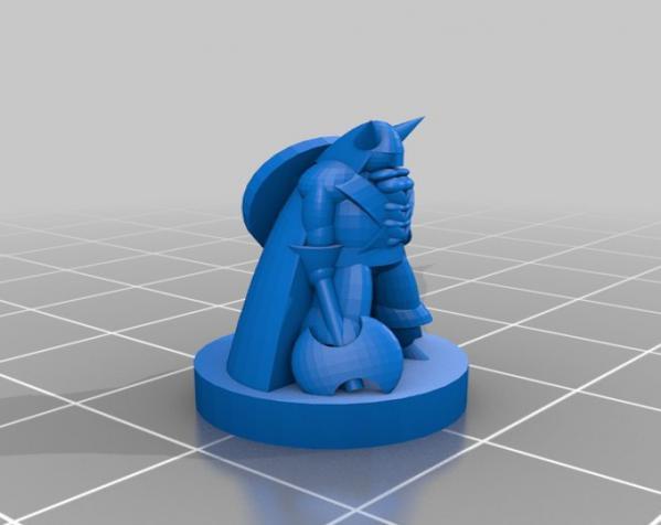 Pocket-Tactics:精灵VS.矮人 3D模型  图10