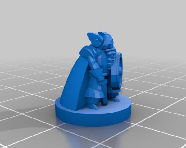 Pocket-Tactics:精灵VS.矮人 3D模型  图13